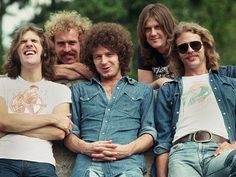 The Eagles- Love this picture.  I want to know what was said to make Glenn laugh.