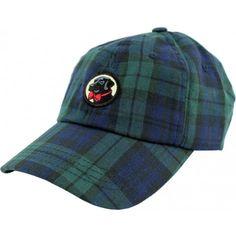 Frat Hat in Navy Tartan Plaid by Southern Proper