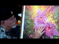 How to paint a flower petal. (2 of 2)