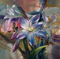 Vie DunnHarr3 - Flower Paintings by Vie Dunn-Harr  <3 <3