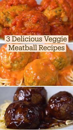 Veggie Dishes, Vegetable Recipes, Vegetarian Recipes, Cooking Recipes, Healthy Recipes, Veggie Meatballs, Comida Diy, Vegan Foods, Diy Food