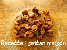 Le seitan maison c'est délicieux ! Il permet de remplacer la viande (car très protéiné + vitamine B12). Romain nous explique comment faire : http://www.eco-createurs.com/recette-seitan-maison/
