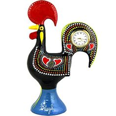 Traditional Portuguese Aluminum Rooster With Clock Made i... https://www.amazon.com/dp/B06ZYLZDG9/ref=cm_sw_r_pi_dp_x_upO7yb598ZWV1