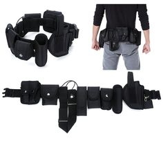 XL XL Noir Voodoo Tactique pour Homme en Nylon BDU Belt