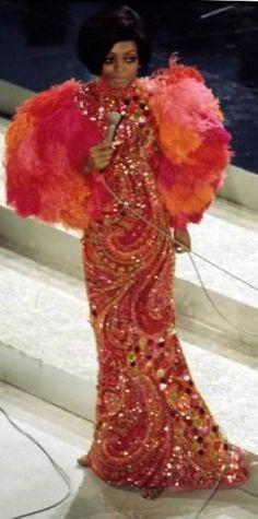 Diana Ross 60's ~ Bob Mackie Costume