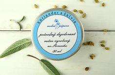 Krémový dezodorant koriander a šalvia (30 ml)