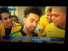 """Brazil Fan Yells """"Fuck Her Right In The Pussy"""" On Live World Cup Report"""