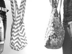 Tote Bag. Purse. Hobo Bag Over the Shoulder Double Strap Reversible Purse. Design Your Own Purse over 50 Colors Fall/Winter Line.