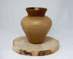 Stoneware white and green glazed vase handmade vase Ceramic Workshop, Thing 1 Thing 2, Flower Pots, Stoneware, Best Gifts, Centerpieces, Clay, Pottery, Vase
