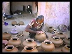 KUTCH, India - Jane Perryman narrates the ancient art of gathering clay, making pots and firing - this video is old skool!