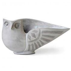 Jonathan Adler Utopia Owl Bowl in All Pottery Ceramic Birds, Ceramic Animals, Clay Animals, Pottery Bowls, Ceramic Pottery, Pottery Art, Sculptures Céramiques, Bird Sculpture, Clay Birds