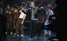 Justin Timberlake - Push Love Girl (Late Night with Jimmy Fallon) DAMN this guy . . . .