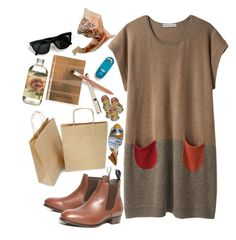reallll by say-youll-mean-it-xoxo on Polyvore featuring Tsumori Chisato, DUBARRY, TokyoMilk, Maryam Keyhani, Tan, neutrals and earthytones