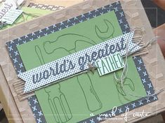 2017 Stampin' Up Occasions Sneak Peek: Nailed It Card Stepped Up