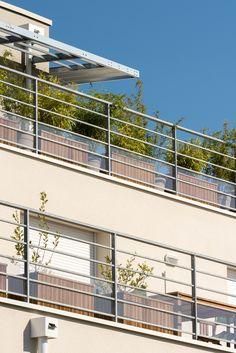 Résidence l'Air du Temps - Mérignac (33)   © Ecliptique / Laurent Thion Aquitaine, Laurent, Stairs, Home, Decor, Stairway, Decoration, Ad Home, Staircases