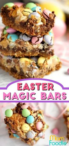 Easter Magic Bars - Easy Easter Dessert #Easterdessert #Easter #desserts