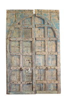 A wide selection of old world palace doors, architectural imports from India at Mogulinterior. antique doors, rustic doors, barn doors and artisan carved doors in teak wood. Vintage Doors, Antique Doors, Old Doors, Antique Desk, Vintage Signs, Castle Doors, Indian Doors, Traditional Doors, Architectural Antiques
