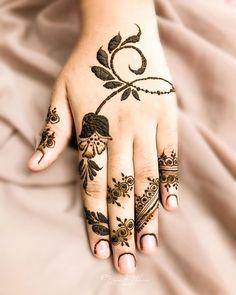 Mehndi or Henna for Fingers Designs Mehndi Fingers, Mehndi Designs For Fingers, Best Mehndi Designs, Fingers Design, Henna Mehndi, Mehendi, Gel Nails, Nail Polish, Heena Design