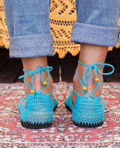 Crochet Sandals, Crochet Shoes, Crochet Slippers, Knit Crochet, Shoe Cupboard, Wool Needle Felting, Flip Flop Slippers, Barefoot, Espadrilles