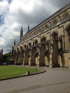 Winchester Cathedral in Winchester, Hampshire