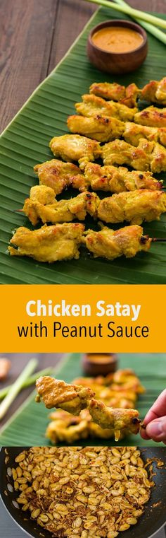Delicious tips for making the best Thai chicken satay skewers with a sweet and spicy peanut dipping sauce.