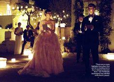 A beautiful, gorgeous wedding.