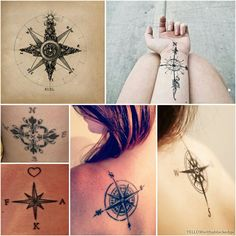 Different types of compass