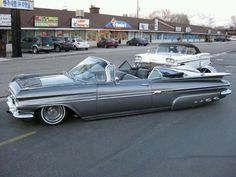 1959 Chevy Impala .. beauty in baby blue                                                                                                                                                                                 More