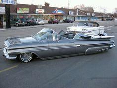 1959 Chevy Impala .. beauty in baby blue