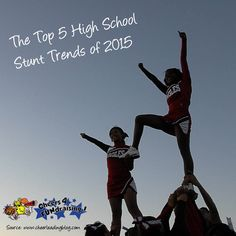 Cheerleading changes fast! Every year, something new is allowed or made illegal, and it sparks creativity everywhere. Here are the top 5 stunt trends for 2015: