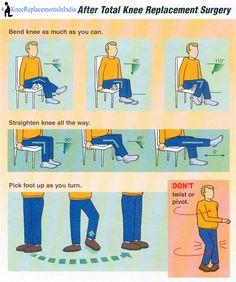 Activities after #KneeReplacement surgery !  www.kneereplacementsinindia.com