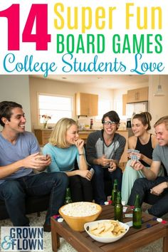 If you're looking for some fun college games that your student will love to play on campus with friends, these 14 super fun board games make perfect gift ideas for your college kid and are surprisingly popular with college students. #college #collegelife #boardgames #giftideas #collegegiftideas #games #college Games For College Students, Student Games, College Games, College Board, College Fun, College Life, College Planning, Dorm Life, Top Board Games
