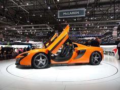 2015 McLaren 650S - 2014 Geneva Auto Show
