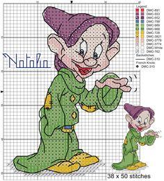 Cucciolo schema di Natalia crocettando@ http://crocettando.wordpress.com/2013/11/14/nanetti-e/