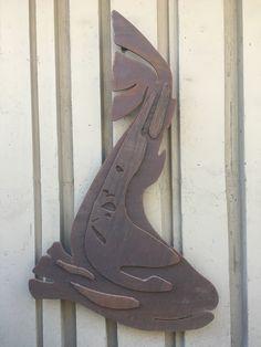 Corten Steel Fish by Gulley Metal Services, Inc. Custom Metal Fabrication, Corten Steel, Denver, Outdoors, Fish, Outdoor, Nature, Ichthys