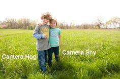 tips for capturing the camera hogs and the camera shy via Tocofi.com