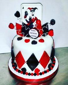 Cake cake cake, yum yum  #harleyquinn #instaharleyquinn #followharleyquinn #likeharleyquinn #bdaygirl #thankGodforanotheryear #birthday #happybdaytome #mybdayistoday #may8 #gettingolder #3.0 #cupcake #rotten #wildcard #dollface #stayevildollface
