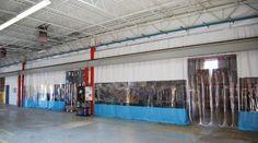 Warehouse Curtains, Divider Walls U0026 Partition Curtain Walls