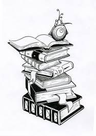 book tattoo ideas - this with colored swirls coming out of the open book