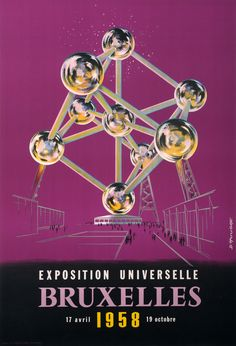 Exposition Universelle Bruxelles 1958 - Affiches Marci