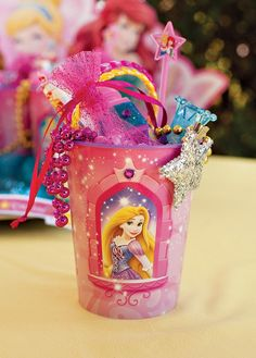 Sparkly Disney Princess Dream Party {+ Free Printables}