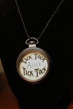 Alice In Wonderland Inspired Necklace by CreativeCabinBlog on Etsy, $12.99
