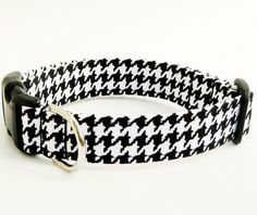 houndstooth dog collar.