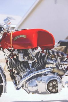 Vincent Cafe Racer #motorcycles #caferacer #motos | caferacerpasion.com