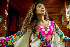 Mexican Cotton Manta,Hand Embroidered with Love, dedication and centuries of traditional textile art techniques,the most beautiful colors you can imagine forming Birds and Flowers Everywhere!!!! Because of the strategic spot where the embroidery is placed this dress will ,make your silhouette seem leaner and longer!!! Perfectly hugging the body exactly where it has to!!!! It will be the most commented dress in any scenario!!! Great option for a mexican boho wedding dress!! It is the most…