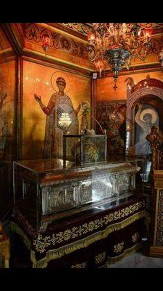 St Dimitrios from Thessaloniki. Byzantine Icons, Byzantine Art, Faith Of Our Fathers, Orthodox Icons, Thessaloniki, Spiritual Life, Holy Spirit, Catholic, Saints