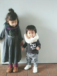 早速息子の髪が伸びました。笑 今日はhanaチャンのお誕生日だと聞きました✨ おめでとうーー🎉 シ