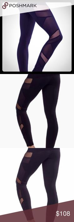COMING SOON!! Sexy Mesh Panel Leggings in Black Sexy Mesh Panel Leggings in Black. Sexy Mesh panels along the sides make you feel super sexy! Material: 88% Polyester 12% Spandex Pants Leggings