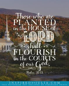 Scripture and Hymn Art by Inspired by Julia