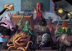 Tentacle Revisited by ~slumberus on deviantART